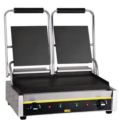 Buffalo Grill de Contact Double BUDGET - Lisse - 540x390x210(h)mm - 2900W