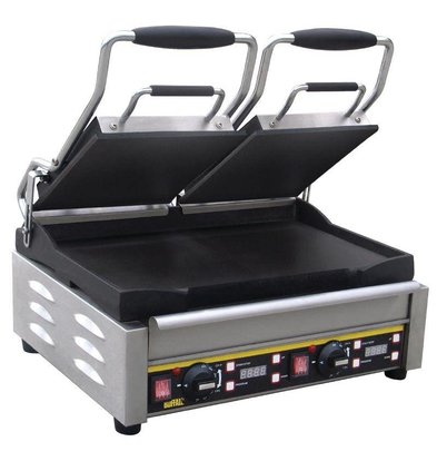 Buffalo Grill de Contact Double - Lisse - Numérique - 480x400x240(h)mm - 2900W