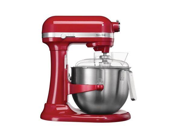 KitchenAid Mixeur Professionnel KitchenAid K5 - Rouge - 6,9 Litres