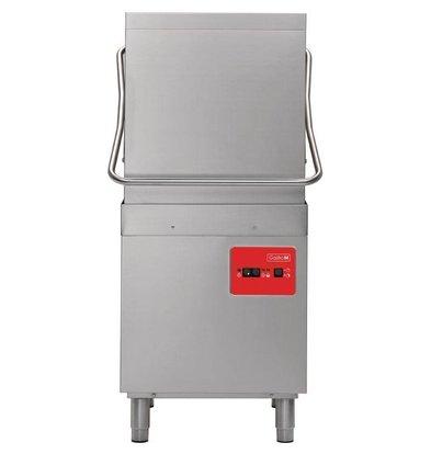Gastro M Lave-Vaiselle à Capot | Casiers 50x50cm | Doseur de Rinçage | 400V