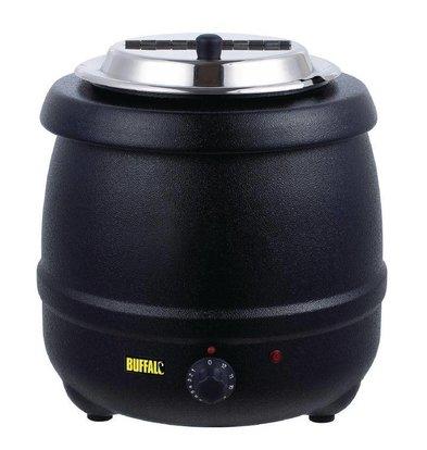 Buffalo Marmite à Soupe | 10 Litres | Noir | Ø330x375(h)mm