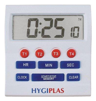 Hygiplas Minuteur Grands Chiffres - Hygiplas - 25(p)x80(l)x80(h)mm