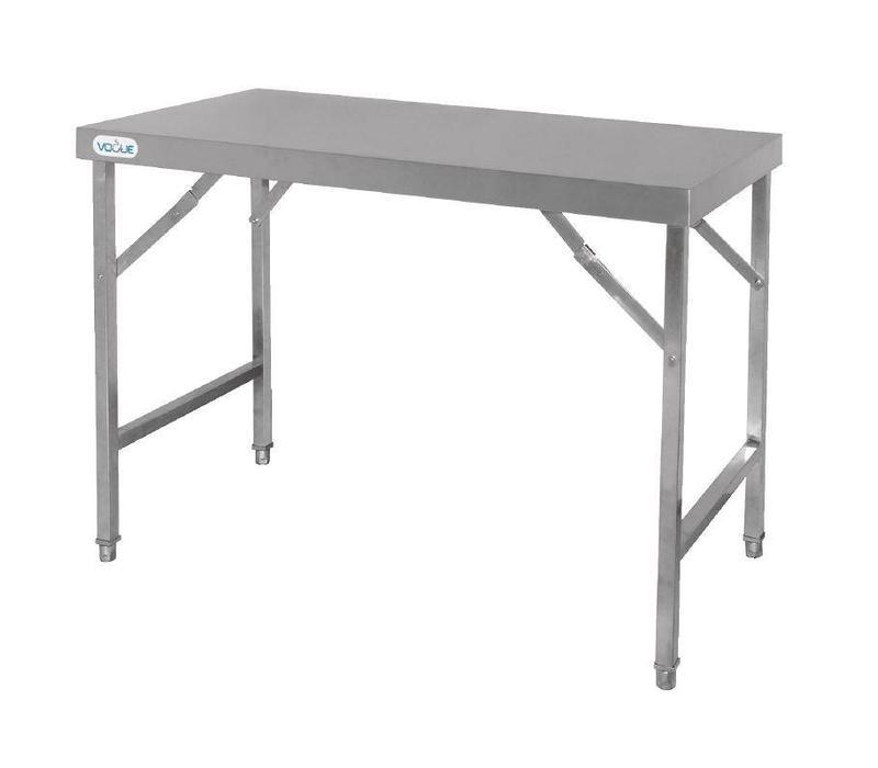 Table x600 De Inox mm Travail Pliable l Chrselect h x900 1200 p vnPNO8my0w