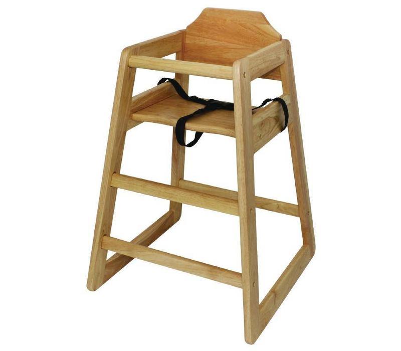 CHRselect Chaise Haute Pour Enfant - Hêtre - 510(L)x510(P)x750(H)mm