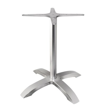 CHRselect Pied De Table | Aluminium Brossé | 680(h)mm