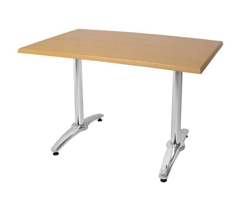 CHRselect Pied De Table Double | Aluminium | 680(h)m