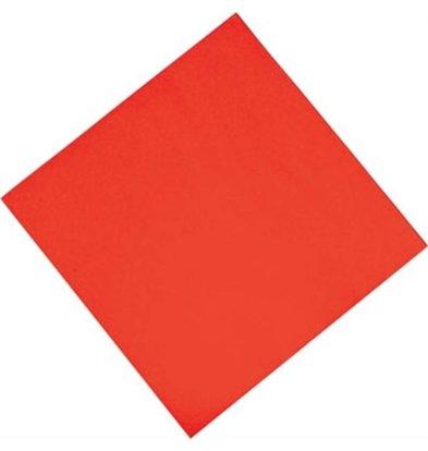 Katrin Serviettes En Papier Prof. - Rouge - 3 Plis - Pliées En 4 -  400x400mm - 1000 Pièces