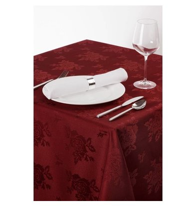 CHRselect Nappe Rectangulaire - Motif Rose - 1370x1780mm