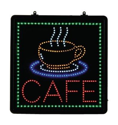 CHRselect Panneau Lumineux Café - LED - 400x400mm