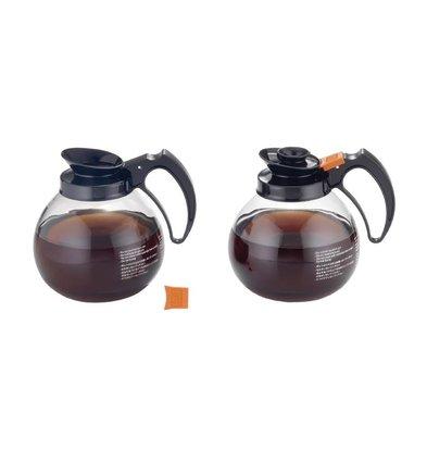 CHRselect Pot à Café - En Verre - 1,8 Litres - GAG108