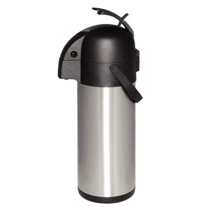 CHRselect Bouteille Isotherme à Pompe Inox | 4000ml