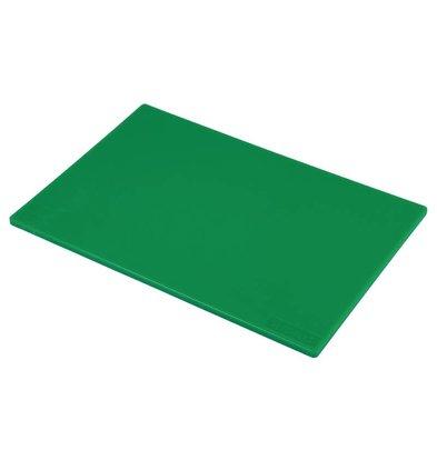 Hygiplas Planche à Découper Basse Densité - Hygiplas - Vert - 450x300x12mm