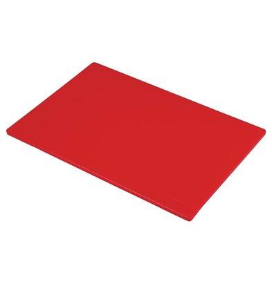 Hygiplas Planche à Découper Hygiplas - Rouge - 450x300x12mm