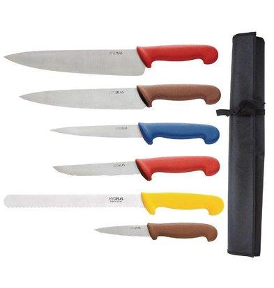 Hygiplas Set De Couteaux Code Couleurs - Hygiplas - Total 7 Pièces