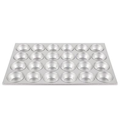 CHRselect Plaque 24 Moules à Muffins - Aluminium