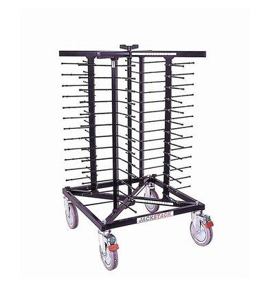 Jackstack Porte-Assiettes Déplaçable - 52 Assiettes - 600x600x1030(h)mm
