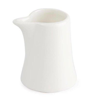 Lumina Mini Pot à Lait Lumina - Porcelaine Fine - 55ml - 12 Pièces