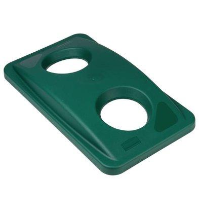 Rubbermaid Couvercle Vert Pour Bouteilles - Rubbermaid Slim Jim
