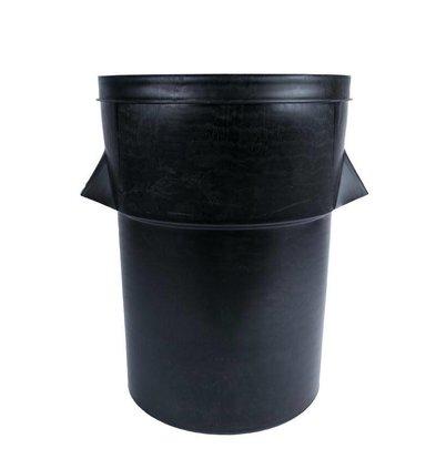CHRselect Poubelle En Plastique Noir - 94 Litres - Pour L900