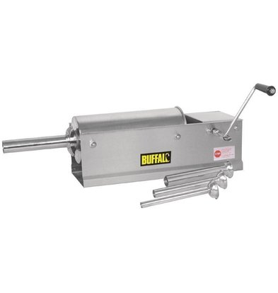 Buffalo Presse à Saucisses Inox 5 Litres - 310(l)x740(L)x200(H)mm