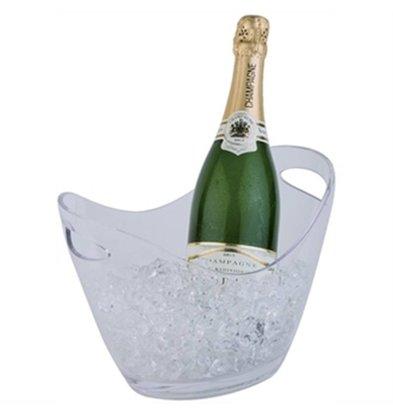 CHRselect Vasque à Champagne Transparente Petite - APS