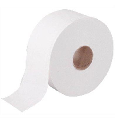 Jantex Rouleaux Papier Mini Jumbo - 2 plis - Lot de 12