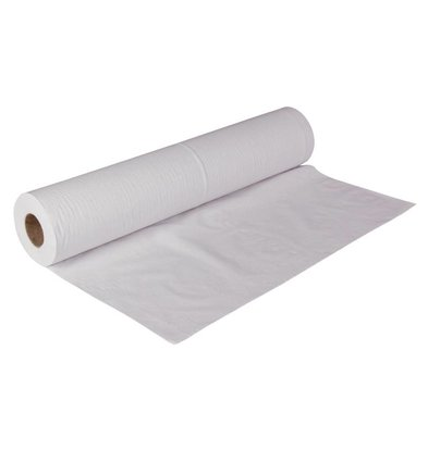 Jantex Rouleaux de Papier Blancs - 2 Plis - Jantex - 500mm x 40m - Lot de 12