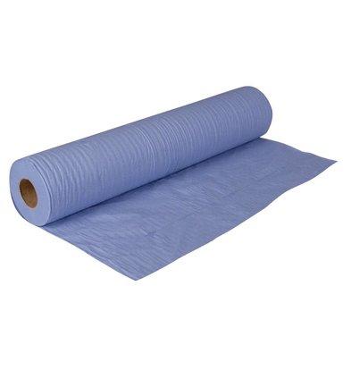 Jantex Rouleaux de Papier Bleus - 2 Plis - Jantex - 200mm x 40m - Lot de 12
