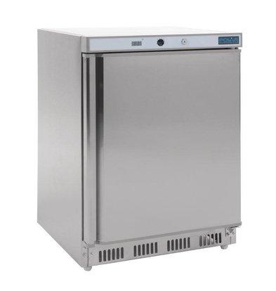 Polar Réfrigérateur Dessous Comptoir Inox | 150 Litres | 600x600x850(h)mm