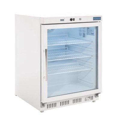 Polar Vitrine Réfrigérée Dessous Comptoir | 150 Litres | 600x600x850(h)mm