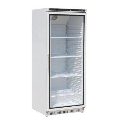 Polar Vitrine Réfrigérée Blanc | 600 Litres | Gastronorme 2/1 | 695x777x1890(h)mm