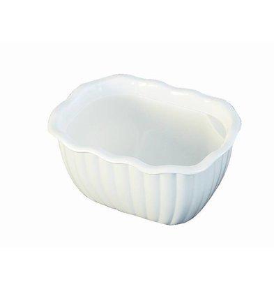 CHRselect Saladier En Polycarbonate Blanc - Dalebrook - 170x130x90mm