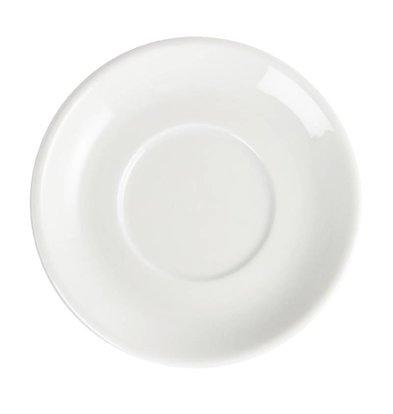 CHRselect Sous-Tasse Pour Tasse à Espresso Blanche - Olympia - Empilable - 12 Pièces