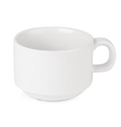 Athena Tasse à Café Athena - Porcelaine Blanche - 200ml - 24 Pièces