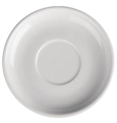 Athena Sous-TasseAthena Pour CC200&CC201 - Porcelaine Blanche - 145mm - 24 Pièces