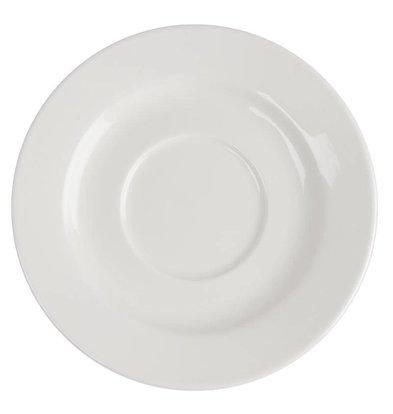 CHRselect Soucoupe Lumina - Porcelaine Fine - 143mm - 6 Pièces