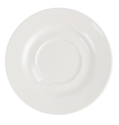 CHRselect Soucoupe Lumina - Porcelaine Fine - 156mm - 6 Pièces