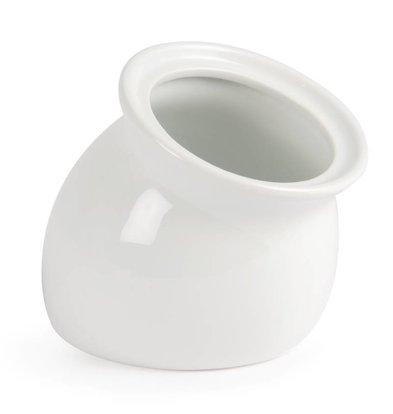 CHRselect Pot Incliné Blanc - Olympa - 110x130x86mm