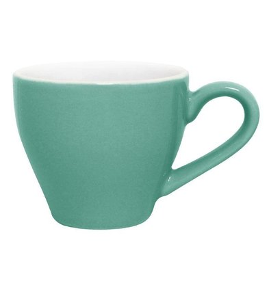 CHRselect Tasse à Espresso Olympia - Verte - 100ml - 12 Pièces