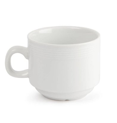 CHRselect Tasse à Thé Empilable - Linear Olympia - 200ml - 12 Pièces