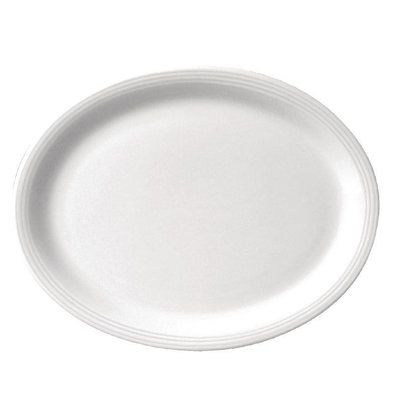 CHRselect Assiette Ovale Linear Olympia - 295mm - 6 Pièces