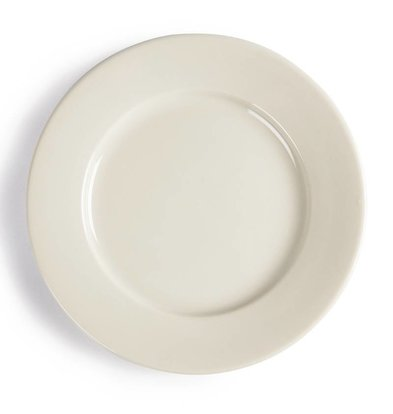 CHRselect Assiette à Bord Large - Ivory Olympia - 150mm - 12 Pièces