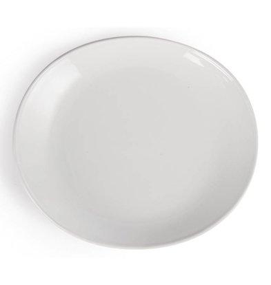 CHRselect Assiette à Viande - Olympia - Porcelaine Blanche - 306(L)mm - 6 Pièces