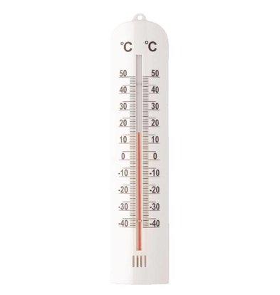 Hygiplas Thermomètre Mural | -40/+50°C | 270(H) x 60(L) x 15(P)mm