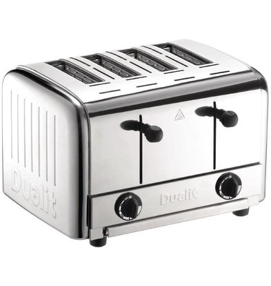 Dualit Grille-Pain Inox Dualit | 4 Fentes | 2700W | 120 Tranches/Heure