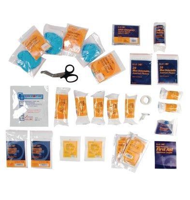 CHRselect Recharge Trousse De Premiers Soins Premium - Petite - Bleu - 10 personnes