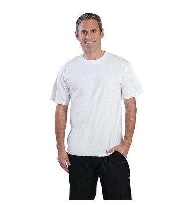 CHRselect T-Shirt Blanc Unisexe - 100% Coton - Disponibles En 3 Tailles