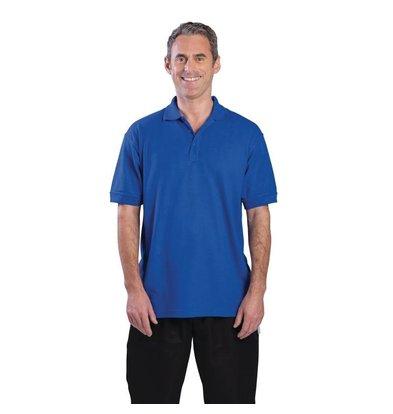 CHRselect Polo Bleu Roi - Unisexe - Polyester/Coton - Disponibles En 4 Tailles