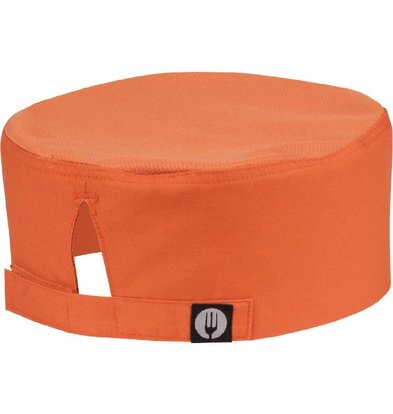 CHRselect Calot CoolVent Chef Works - Taille Universelle - Orange
