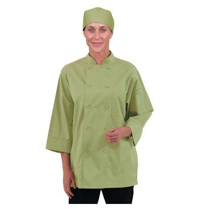 CHRselect Veste De Cuisinier Manches 3/4 - ChefWorks - Vert Anis - Disponibles En 6 Tailles